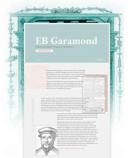 EB Garamond minisite